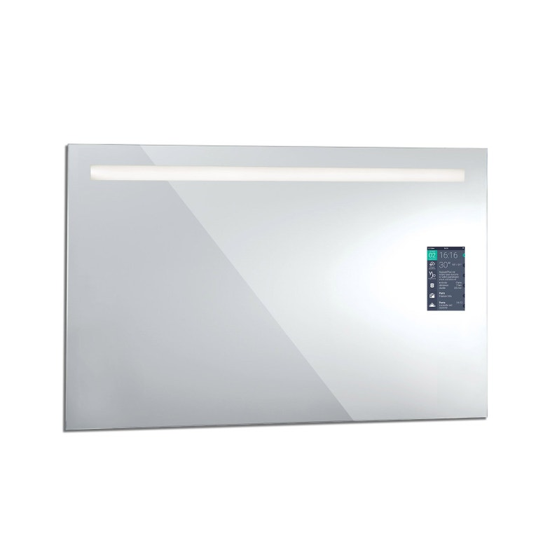 Miroir Lumineux Avec éclairage Intégré L 120 X H 75 Cm Miralite Connect