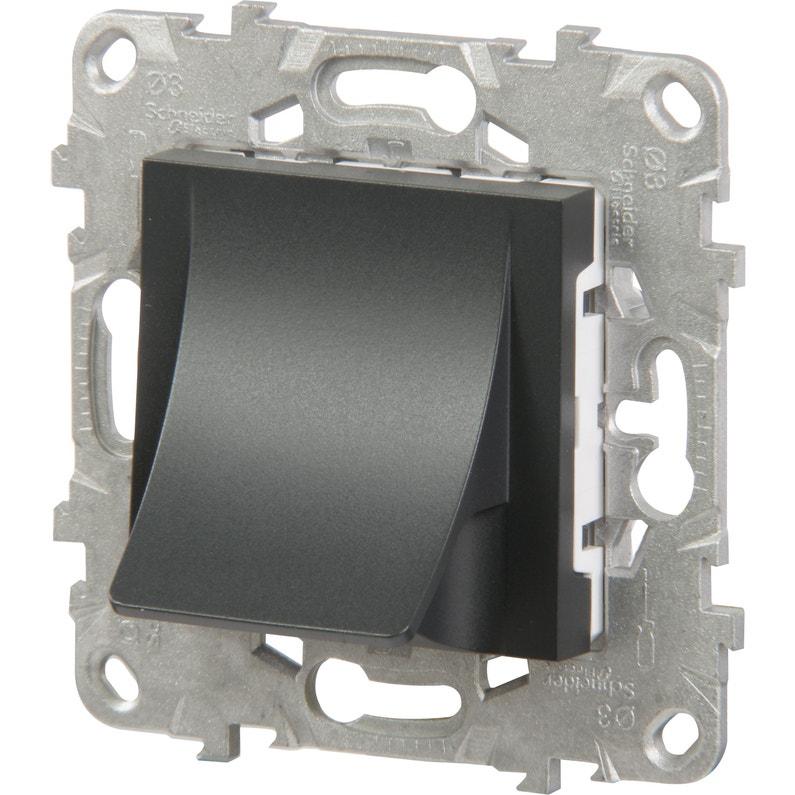 Sortie De Câble Unica Schneider Electric Anthracite