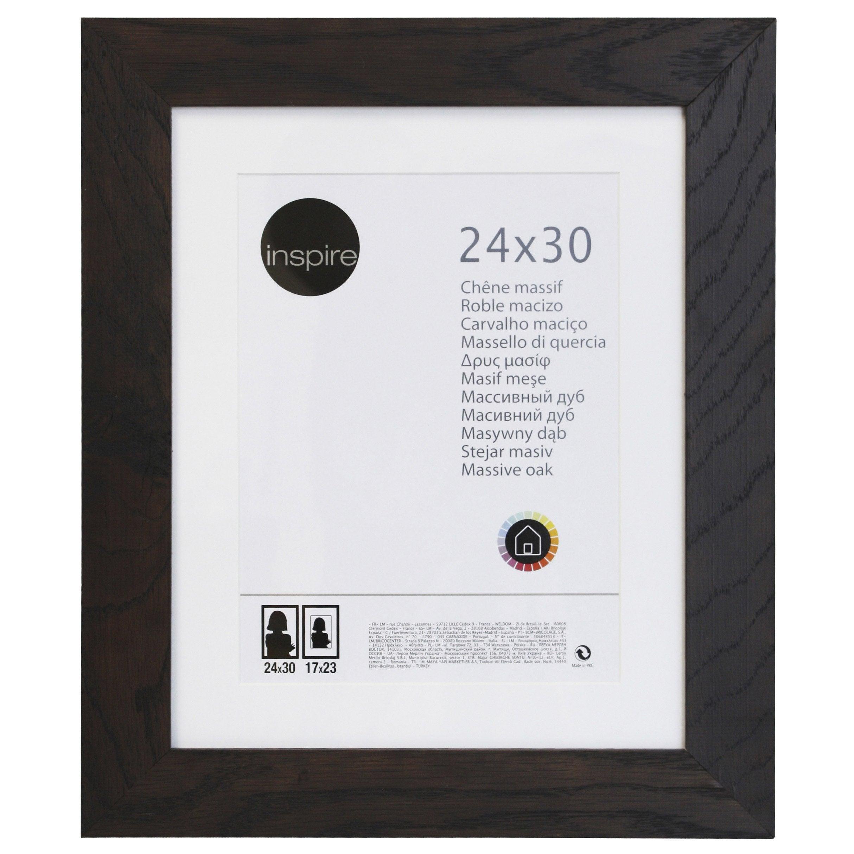 Cadre Nakato, 24 x 30 cm, wengé