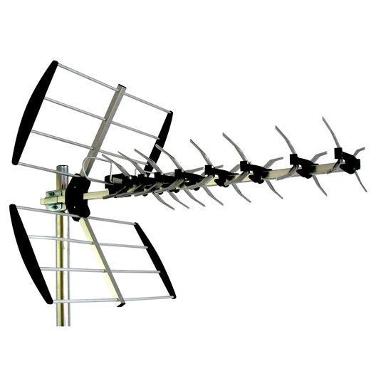 antenne ext 233 rieure tnt hd visionic 14 db leroy merlin