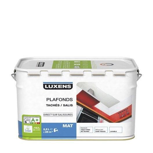 Peinture luxens mat 2 5 l leroy merlin - Peinture leroy merlin luxens ...