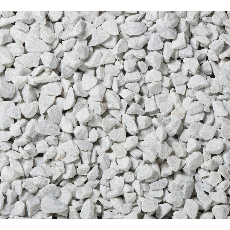 graviers en marbre blanc 12 18 mm 25 kg leroy merlin. Black Bedroom Furniture Sets. Home Design Ideas