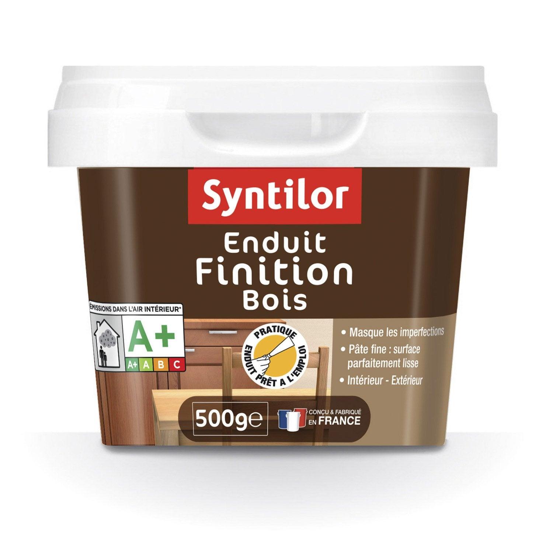 exceptionnel Enduit bois SYNTILOR, crème, 500 g