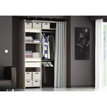 kit dressing am nagement placard et dressing leroy merlin. Black Bedroom Furniture Sets. Home Design Ideas