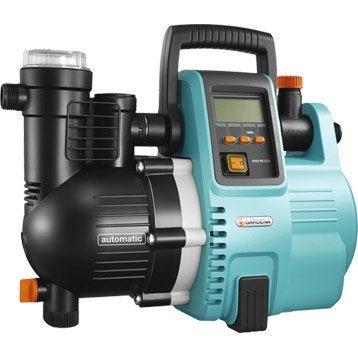 Pompe arrosage automatique GARDENA, Comfort 5000/5e lcd 5000 l/h