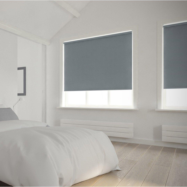 Store enrouleur occultant 5785 INSPIRE, gris galet n°3, 150x250 cm ...