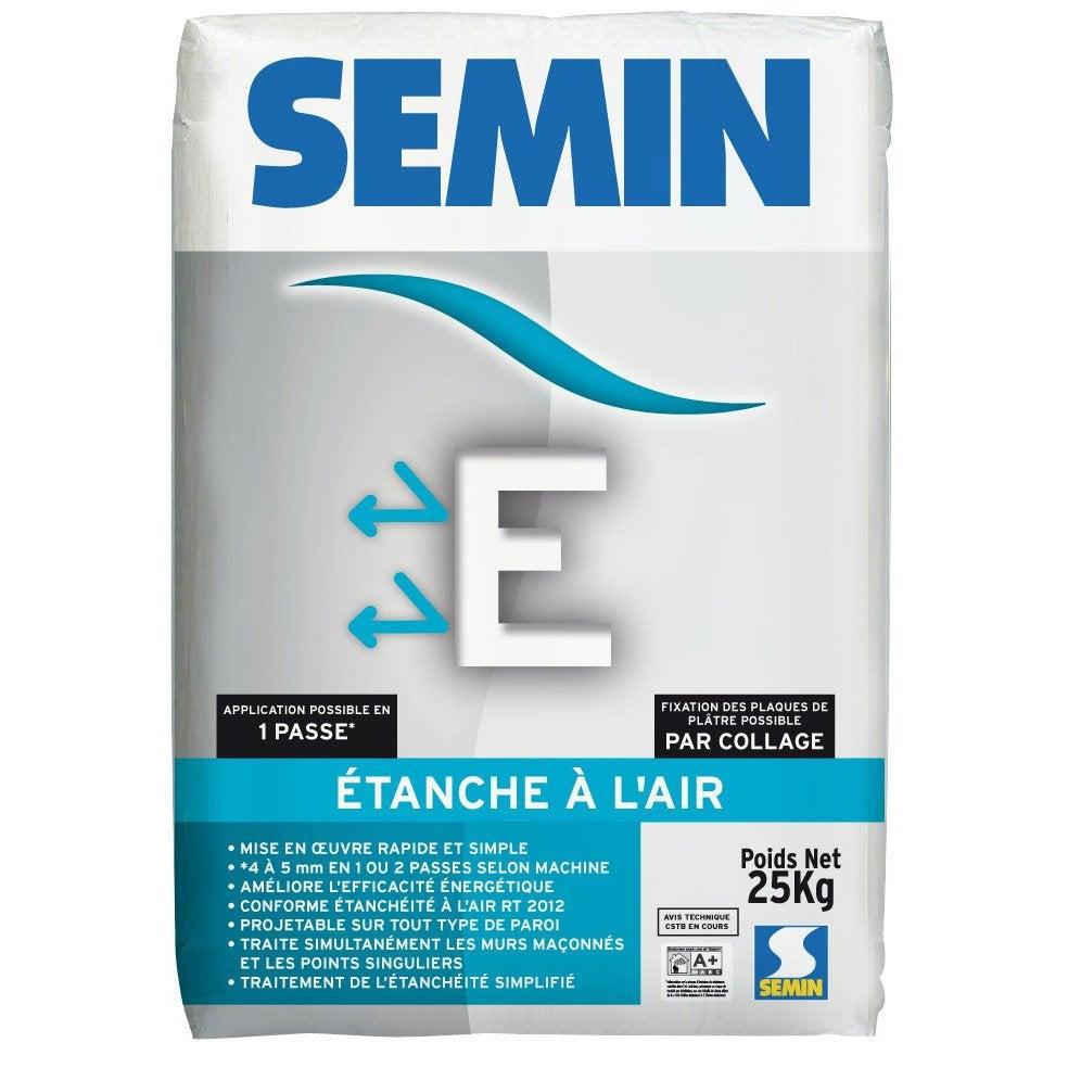 Enduit Semin E Enduit Détanchéité 25 Kg Semin 250 Kg