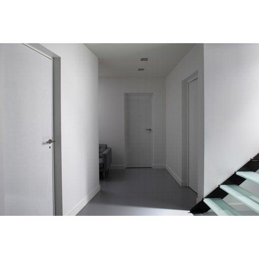 Bloc porte isoplane isoplane x cm poussant Porte interieure sans bloc porte