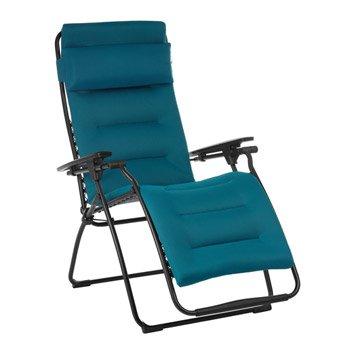 Relax de jardin en acier Futura air comfort coral blue