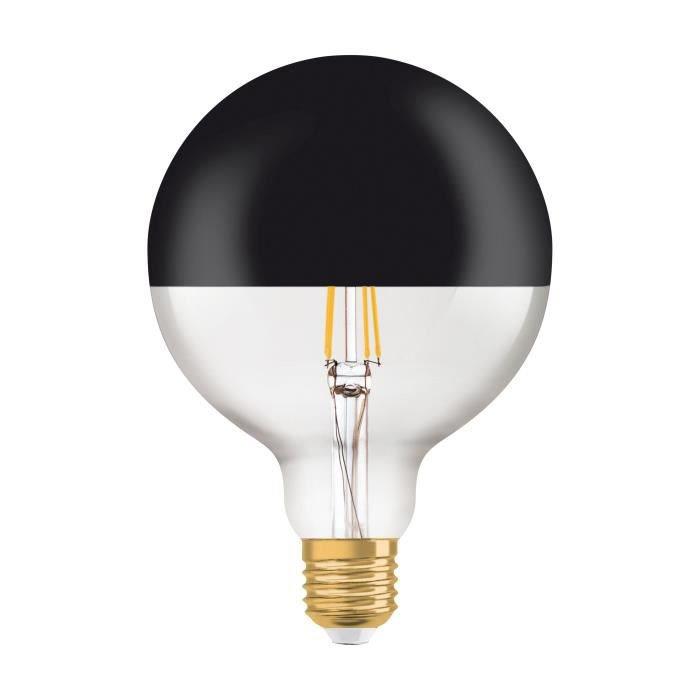 Ampoule Led Or Globe 125 Mm E27 680 Lm 52 W Blanc Chaud Osram