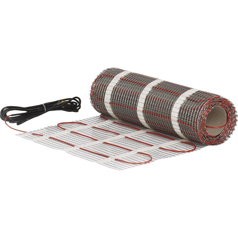Avis Chauffage Au Sol Electrique plancher chauffant électrique ensto efhtm 1200 w l.2400 x l.50 cm
