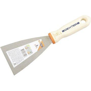 Couteau de peintre acier traité 8 cm