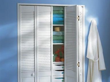 poser des portes de placards leroy merlin. Black Bedroom Furniture Sets. Home Design Ideas