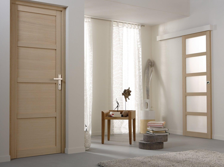 Porte interieur maison design 40 faons la porte de grange for Porte de maison interieur