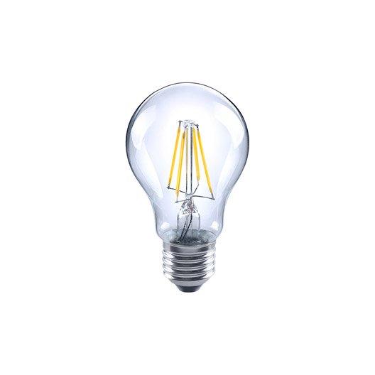 ampoule filament standard led 7w 806lm quiv 60w e27 2700k 360 lexman leroy merlin. Black Bedroom Furniture Sets. Home Design Ideas