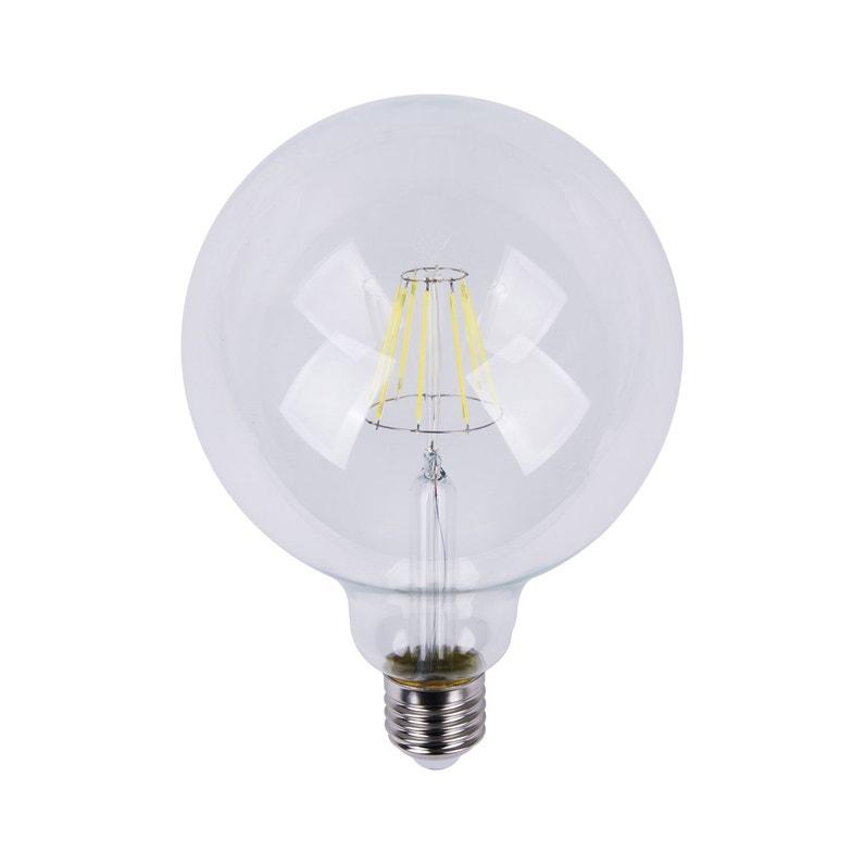 Ampoule Globe Led 12w 1055lm équiv 75w E27 4000k 360 Lexman