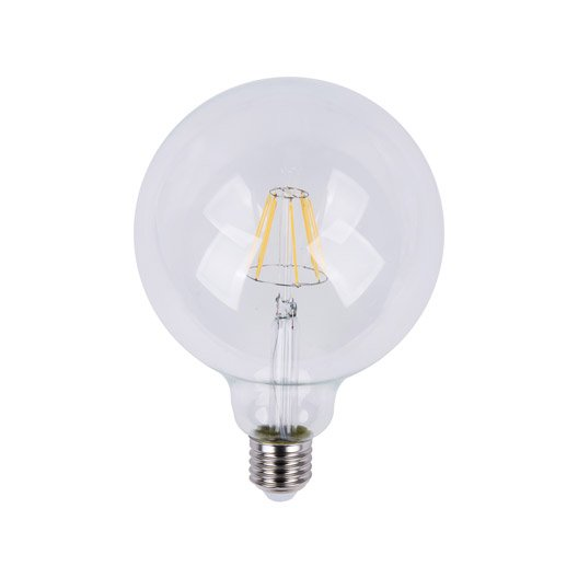 Ampoule globe LED 12W = 1055Lm (équiv 75W) E27 2700K 360° LEXMAN