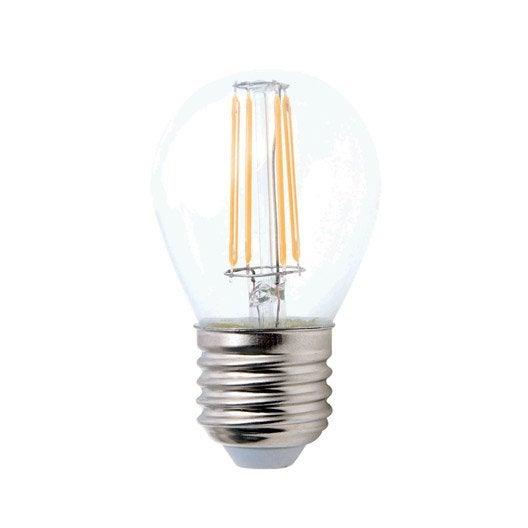 ampoule sph rique led 5w 470lm quiv 40w e27 2700k 360 lexman leroy merlin. Black Bedroom Furniture Sets. Home Design Ideas