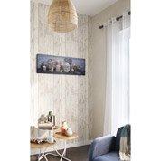Papier peint intissé Rustik wood lin