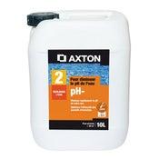 Réducteur de ph piscine AXTON, liquide 10 l