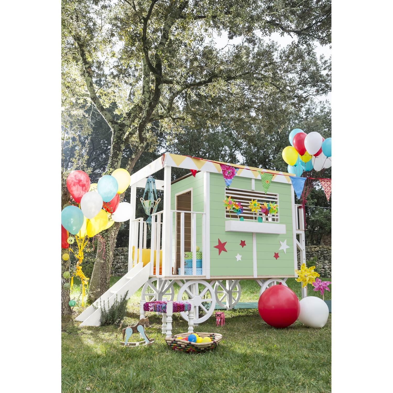 cabane enfant leroy merlin perfect maisonnette bois m. Black Bedroom Furniture Sets. Home Design Ideas