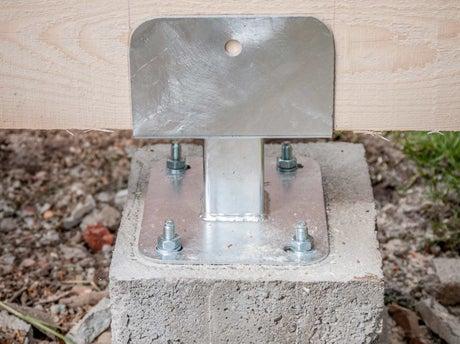 Construire les plots de fondation leroy merlin - Leroy merlin plot beton ...