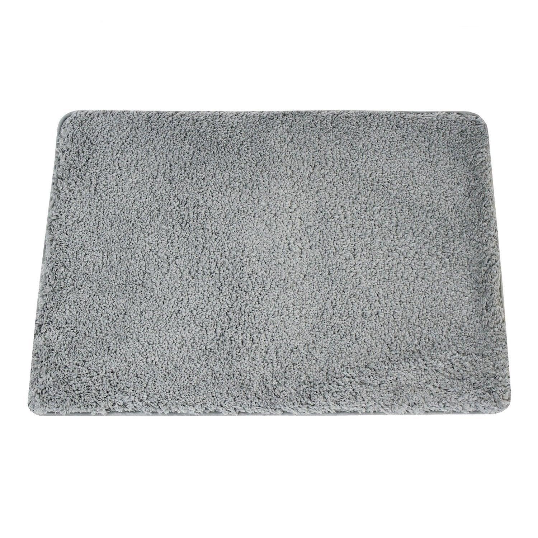 Tapis de bain l.50 x L.80 cm granit n°3, Icône SENSEA