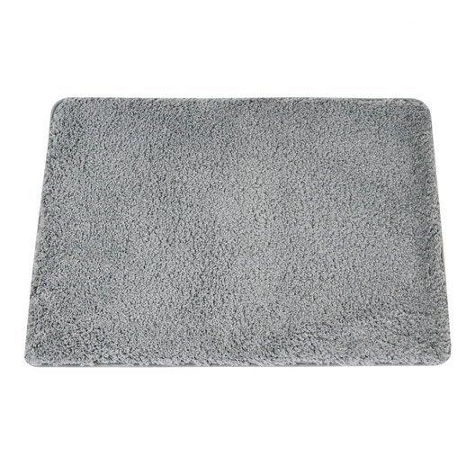 Tapis De Bain L.50 X L.80 Cm Granit N°3, Icône Sensea | Leroy Merlin