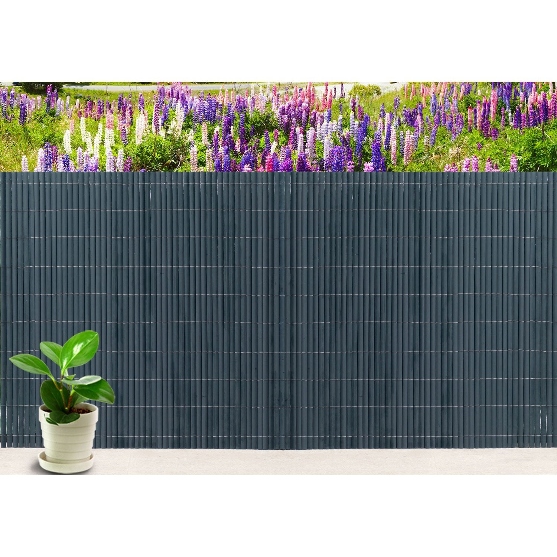 canisse pvc naterial gris anthracite cm x l 5 cm leroy merlin. Black Bedroom Furniture Sets. Home Design Ideas