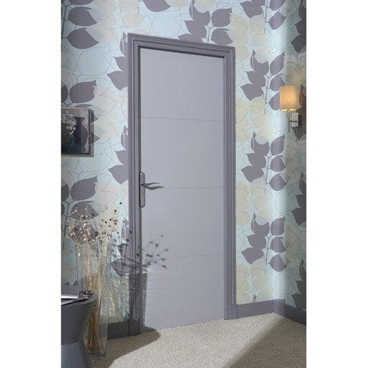 bloc porte isoplane milan x cm poussant gauche leroy merlin. Black Bedroom Furniture Sets. Home Design Ideas