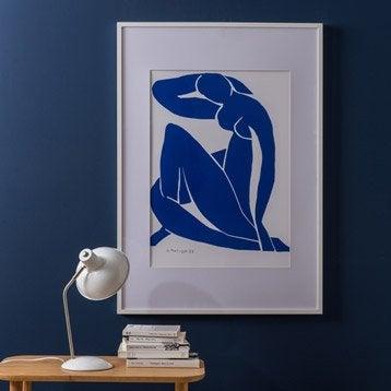 Cadre Milo, 50 x 70 cm, blanc