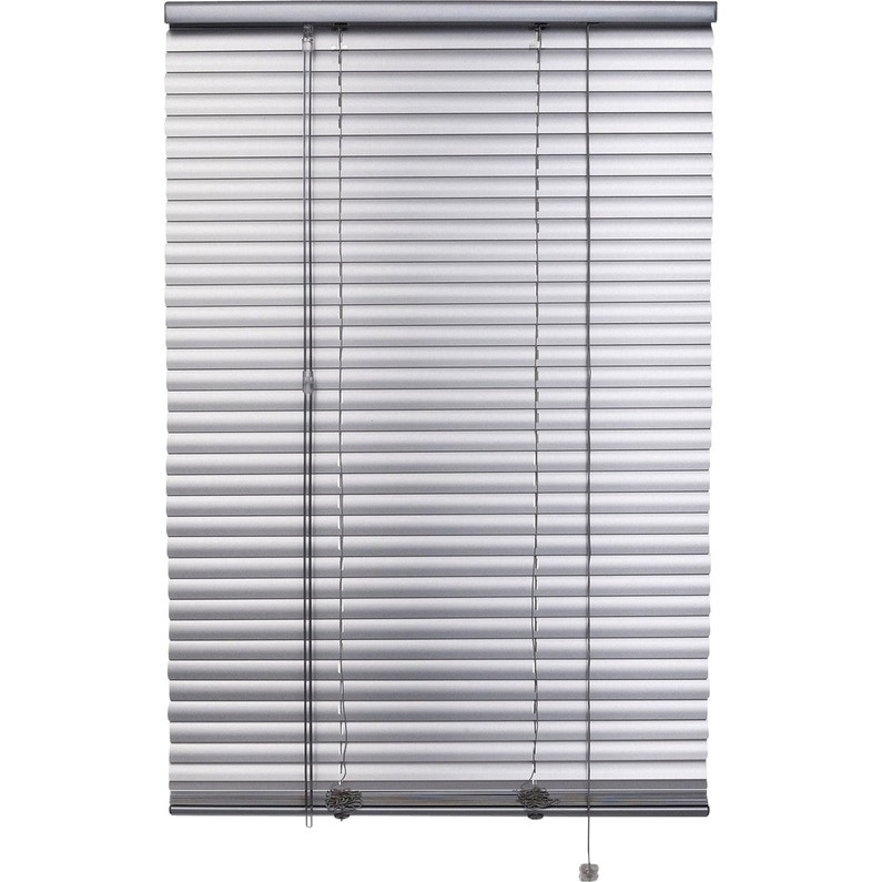 Store Vénitien Aluminium Aluminium Satiné L60 X H130 Cm Leroy