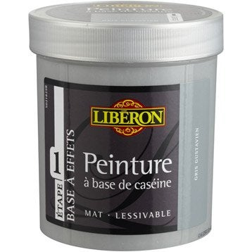 Peinture effet base cas ine liberon gris gustavien 0 5 l - Peinture a effet gris ...