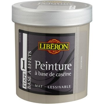 Peinture à effet Base caséine mat profond LIBERON, feutrine, 0.5 l