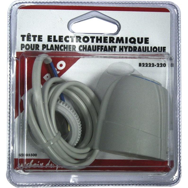 Tête De Robinet Thermostatique Femelle Femelle Laiton Blanc Ecopro