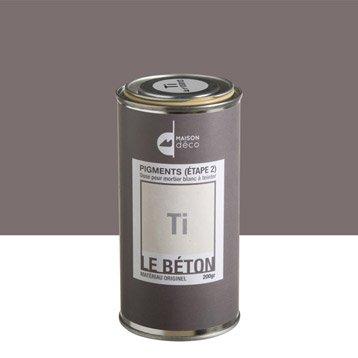 Peinture à effet, Pigment le béton MAISON DECO, ti, 0.2 kg