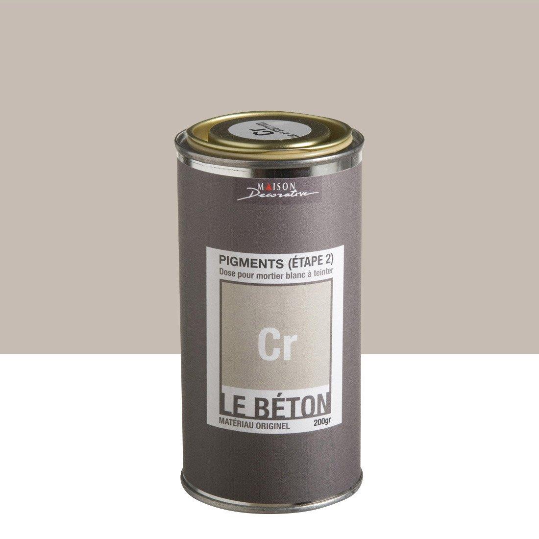 peinture effet pigment le b ton maison deco cr 0 2 kg leroy merlin. Black Bedroom Furniture Sets. Home Design Ideas