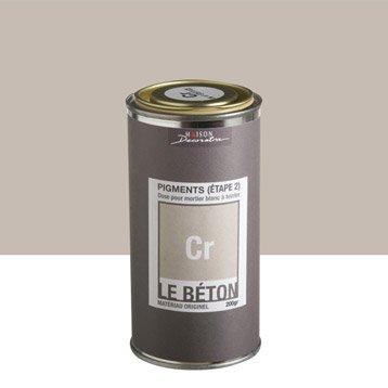 Peinture à effet, Pigment le béton MAISON DECO, cr, 0.2 kg