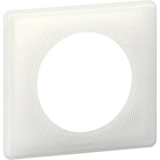 plaque simple c liane legrand lumen leroy merlin. Black Bedroom Furniture Sets. Home Design Ideas