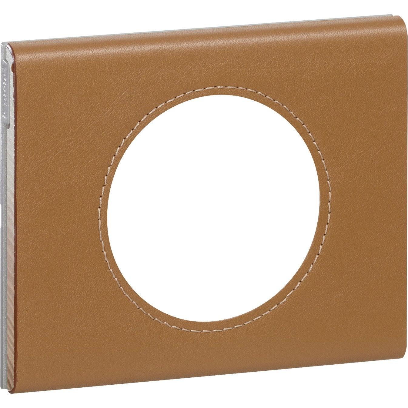 plaque c liane legrand caramel mat leroy merlin. Black Bedroom Furniture Sets. Home Design Ideas
