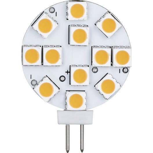 ampoule bulbe led 2 5w 180lm quiv 20w g4 2700k paulmann leroy merlin. Black Bedroom Furniture Sets. Home Design Ideas