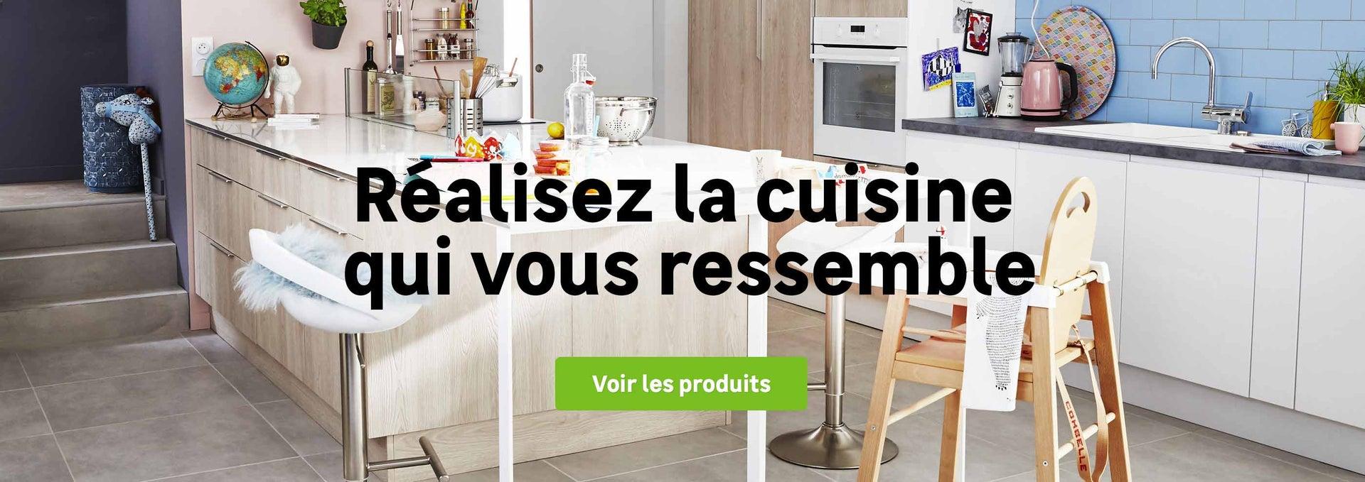 Votre projet cuisine leroy merlin for Voir cuisine leroy merlin