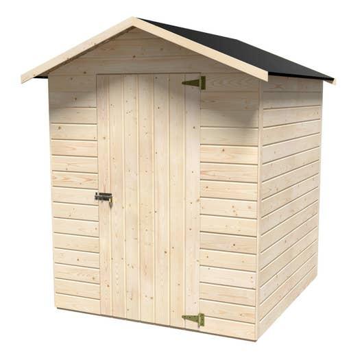 Abri de jardin bois, 2.36 m² Ep.12 mm | Leroy Merlin