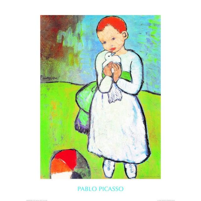 Affiche Enfant Au Pigeon L80 X H60 Cm