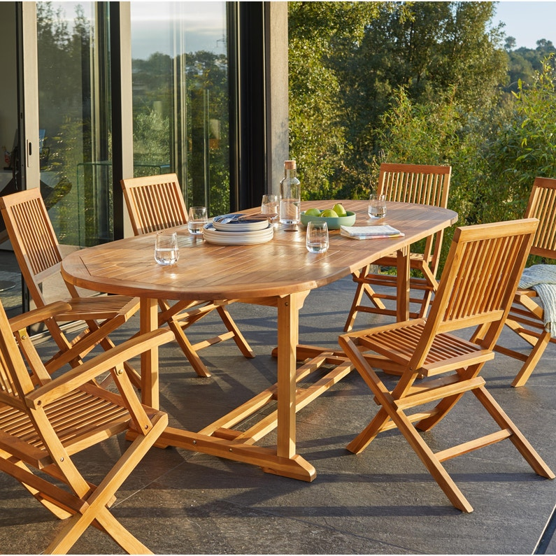 Table De Terrasse En Teck | Cartier Love Online