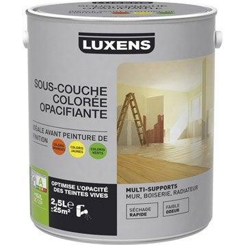 Sous-couche universelle colorée jaune LUXENS, 2.5 L