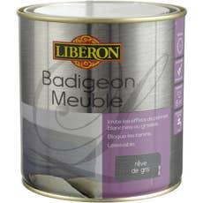 lasure mat liberon badigeon meuble blanc coton 0 5 l leroy merlin. Black Bedroom Furniture Sets. Home Design Ideas