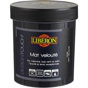 Peinture à effet, mat, LIBERON Design touch, noir, 0.5 l