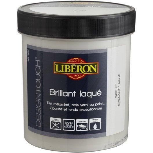 Peinture effet design touch laqu liberon reflet 0 5 l for Peinture pour baignoire fonte