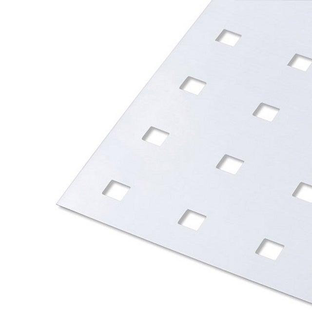 Tôle Perforé En Aluminium Anodisé Long 100 Cm X Larg 60 Cm X ép 07 Mm
